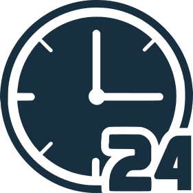 reloj 24 horas